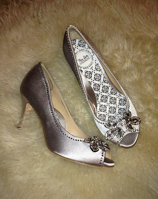 Hey Lady Shoes Twinkletoes Silver Wedding Shoes photo