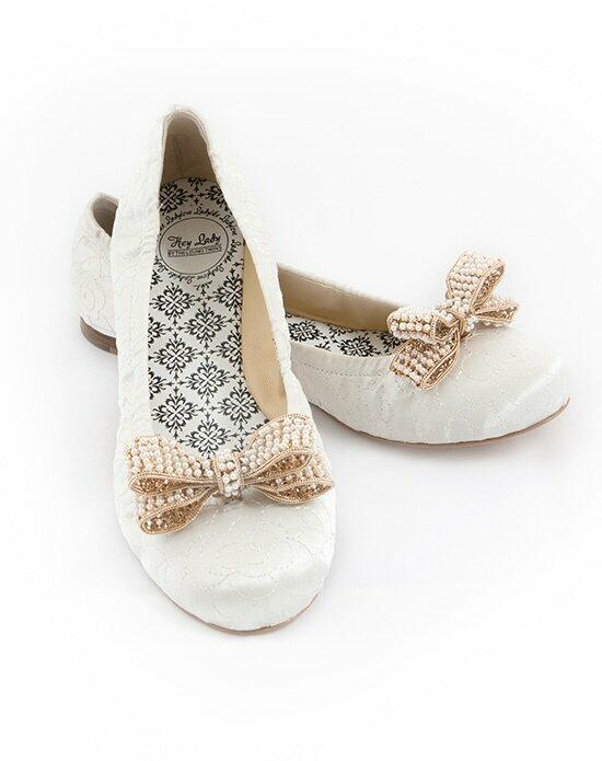 Hey Lady Shoes Smitten w/little pearl bow Wedding Shoes photo