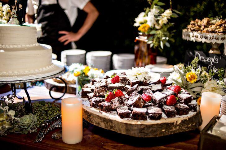 Brownies in Dessert Bar