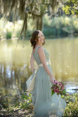 J.Crew Mint Green Wedding Dress
