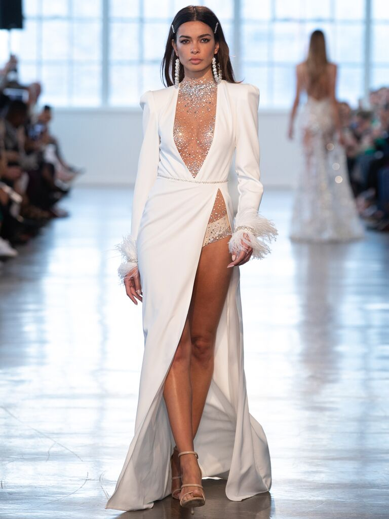 Berta Spring 2020 Bridal Collection sexy wedding dress