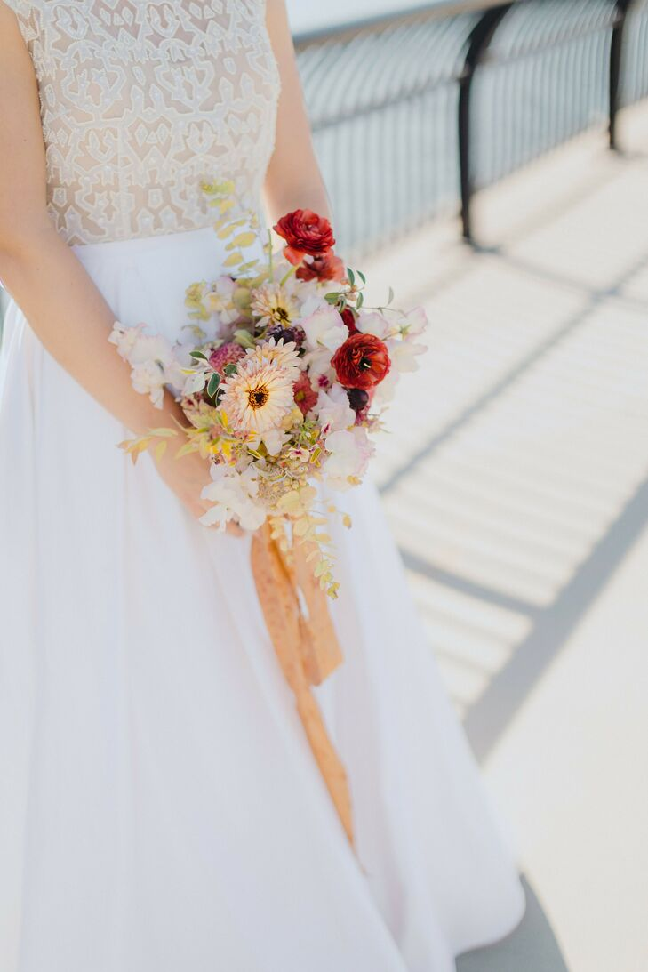 Bouquet for Wedding at Sound River Studios in Long Island City, New York