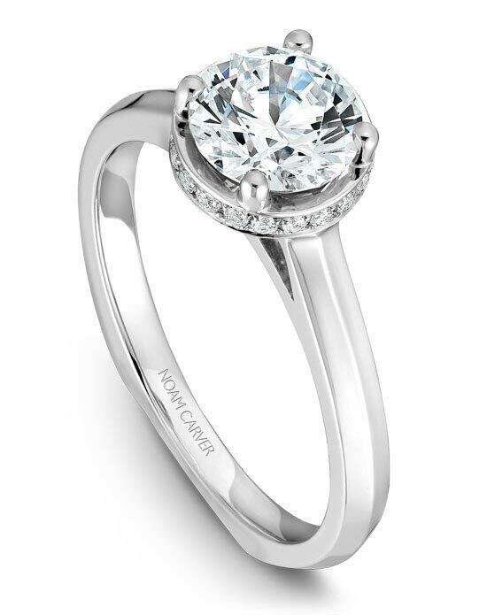 Noam Carver B040-01WS-100A Engagement Ring photo