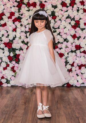 Kid's Dream C204 Green,Ivory,Pink Flower Girl Dress