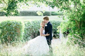Swedish Garden Wedding Portrait