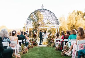 Bohemian, Whimsical Garden Ceremony at the Fairmont Grand Del Mar in San Diego, California