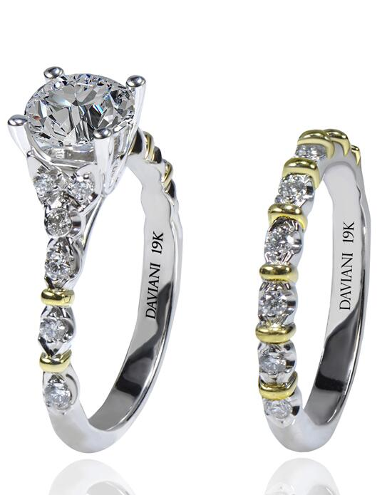 Daviani Love Links Collection DCR1186 Wedding Ring photo