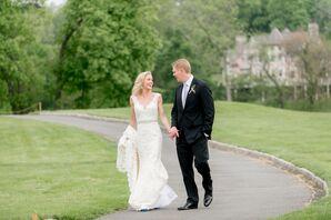 Alvina Valenta Lace Mermaid-Style Wedding Dress