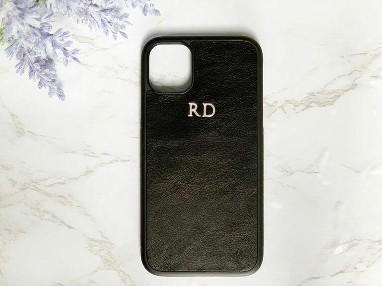 etsy custom phone case leather