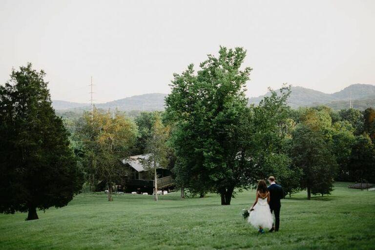 Wedding venue in Nashville, Tennessee.