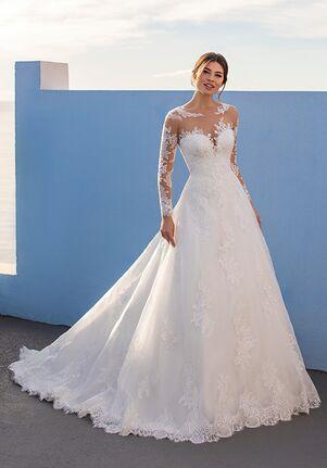 WHITE ONE RUKSHANA A-Line Wedding Dress