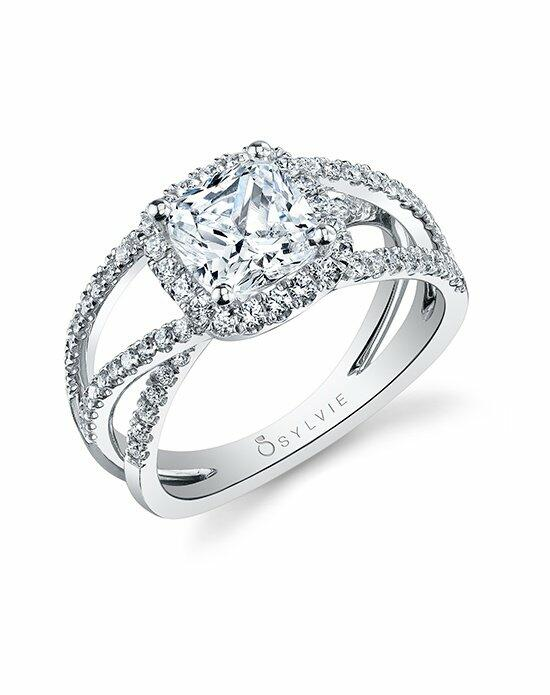 Sylvie Collection S1131CU Engagement Ring photo