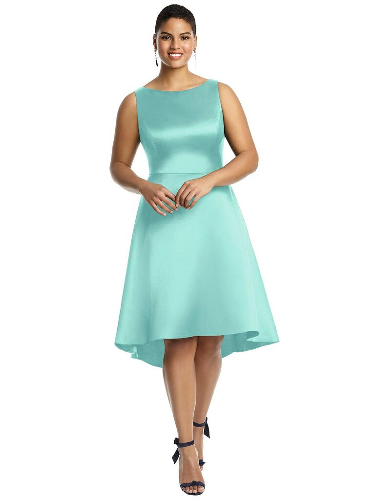 18 Short Bridesmaid Dresses That Combine Class and Comfort