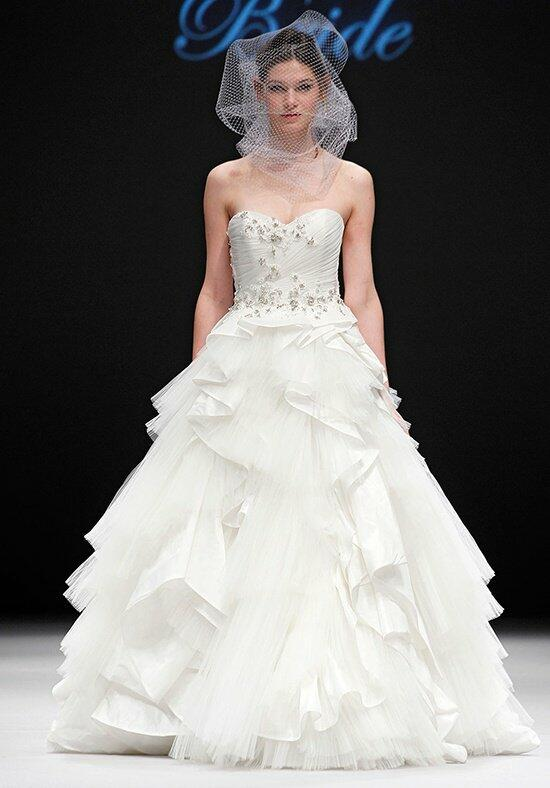 Badgley Mischka Bride Bardot Wedding Dress photo