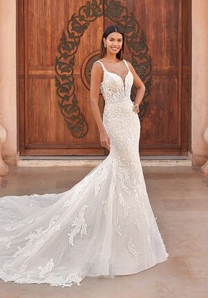 Demetrios 1095 Mermaid Wedding Dress