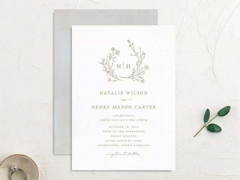 free wedding invitations rustic design