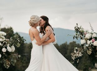 Sydney and Michelle went all-out when it came to bringing a celebratory vibe to their two-day affair at Hotel Domestique in Travelers Rest, South Caro