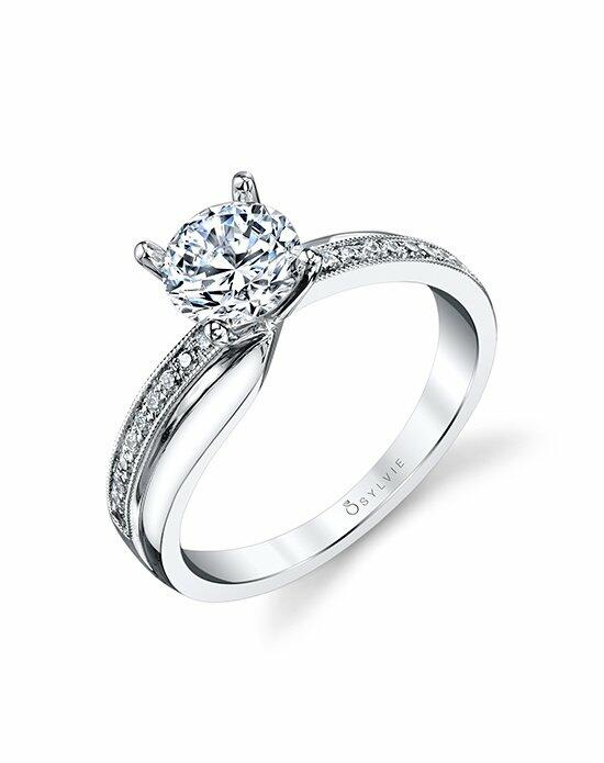 Sylvie Collection S1419 Engagement Ring photo