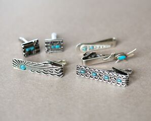New Mexico Inspired Turquoise Jewelry for Texas Bride