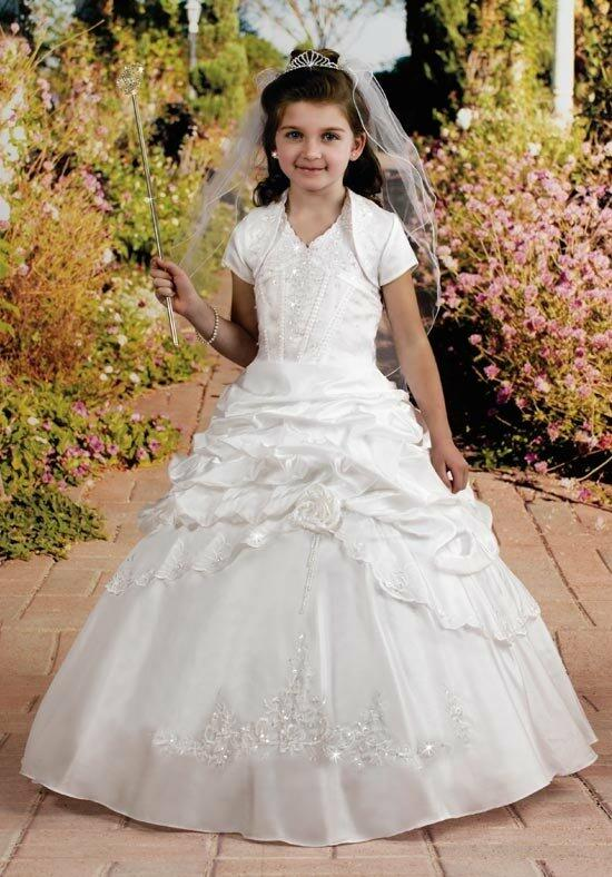 Cupids by Mary's F972 Flower Girl Dress photo