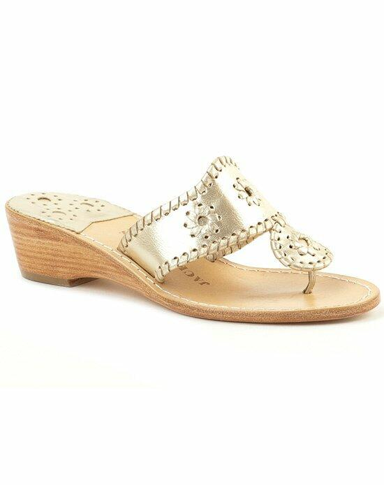 Jack Rogers Hamptons Mid Wedge-Champagne Wedding Shoes photo