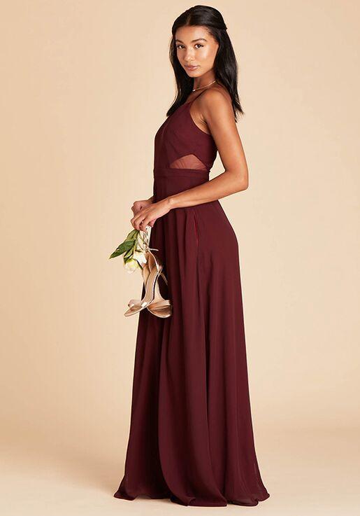 Birdy Grey Lin Dress in Cabernet Sweetheart Bridesmaid Dress