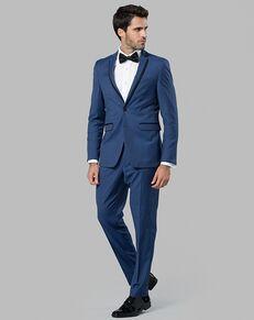 Menguin Blue Edge Lapel Tuxedo Blue Tuxedo