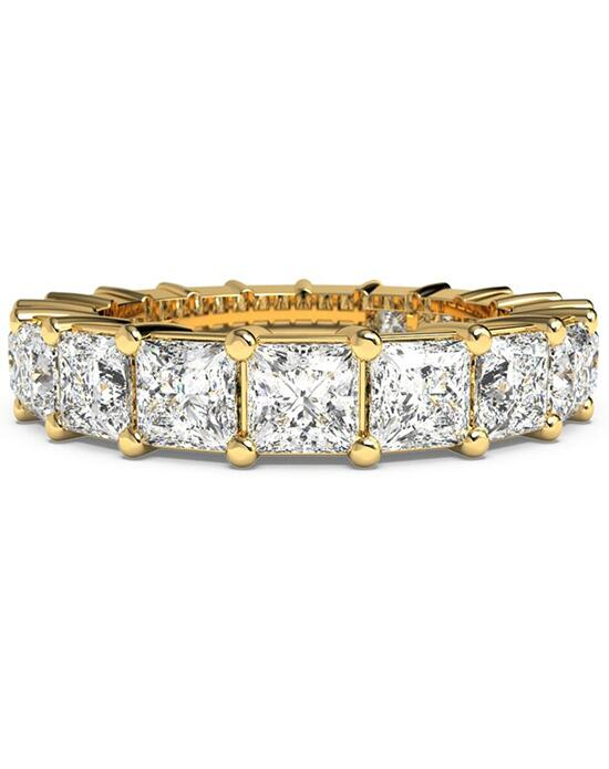 Ritani Women's Princess-Cut Diamond Prong-Set Eternity Ring - in 18kt Yellow Gold - (3.99 CTW) Wedding Ring photo