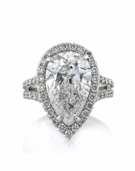 Mark Broumand 6.83ct Pear Shaped Diamond Engagement Ring Engagement Ring photo