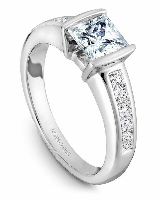 Noam Carver B033-01WS-100A Engagement Ring photo