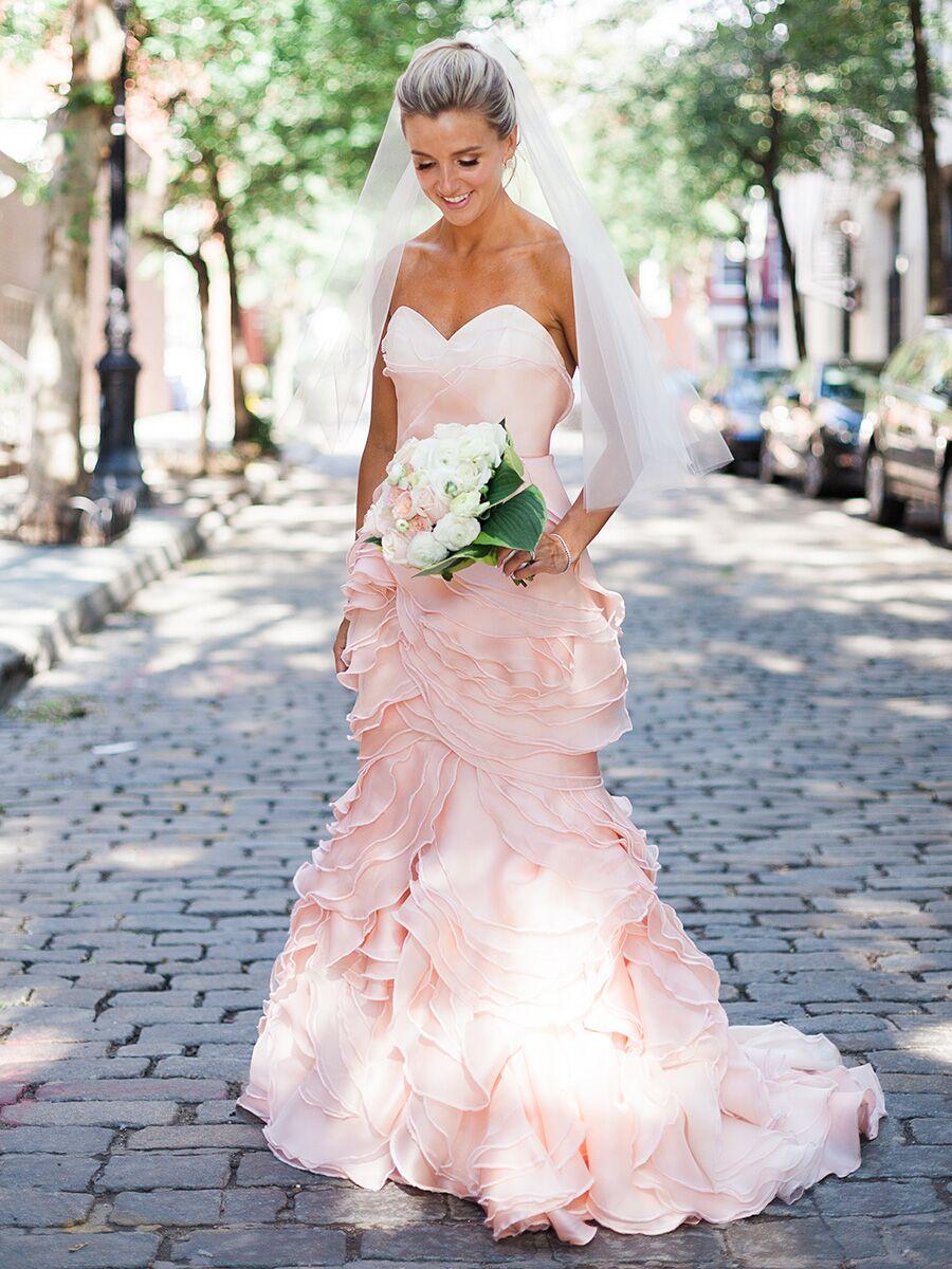 24 Nontraditional Wedding Dress Ideas,Cinderella Coming To America Wedding Dress