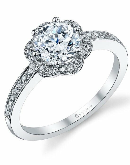Sylvie Collection S1085 Engagement Ring photo