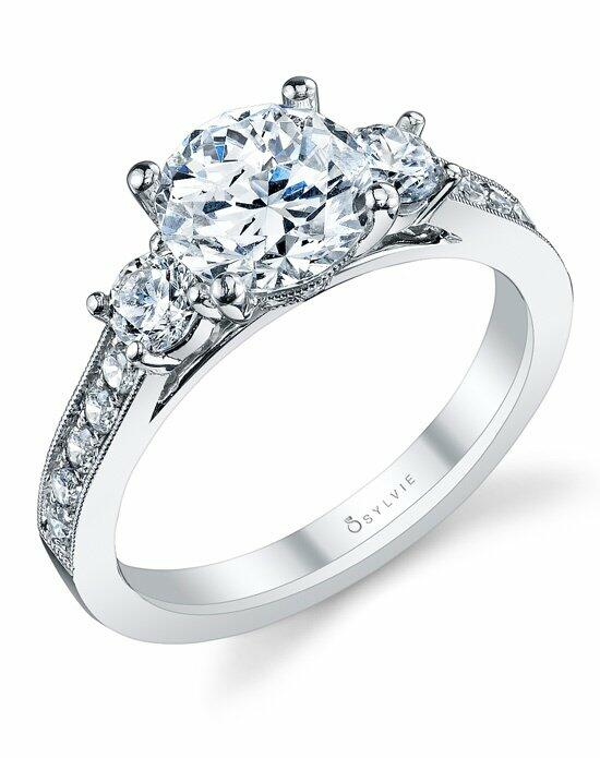 Sylvie Collection S1083S Engagement Ring photo