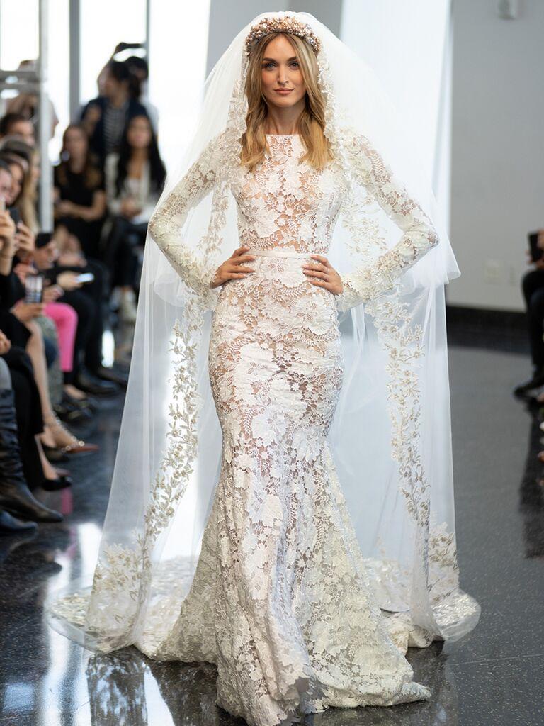 long sleeve berta dress lace