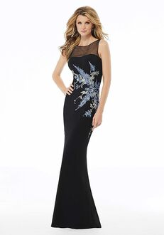 MGNY 72130 Black,Silver Mother Of The Bride Dress