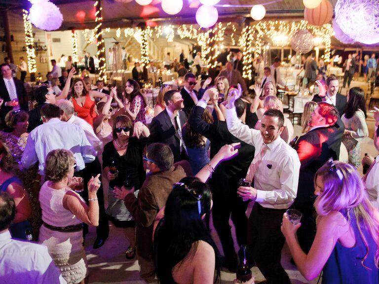 4th of July wedding dance floor