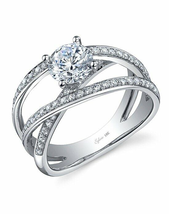 Sylvie Collection SY811 Engagement Ring photo