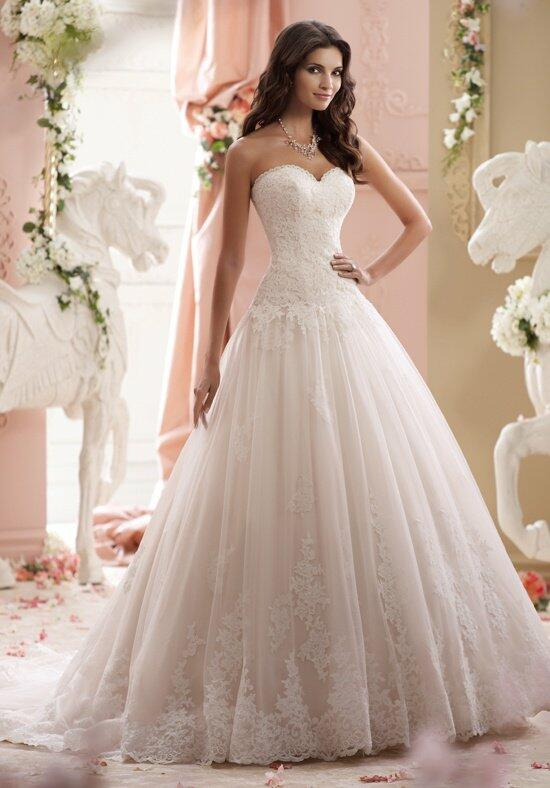 David Tutera for Mon Cheri 115241 Lucien Wedding Dress photo