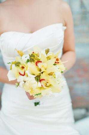 Light Yellow Bridal Bouquet