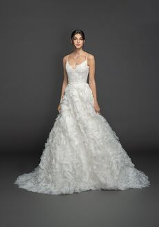 Lazaro Gardenia/3950 Ball Gown Wedding Dress