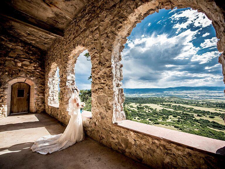 Cherokee Ranch and Castle in Sedalia, CO wedding venue