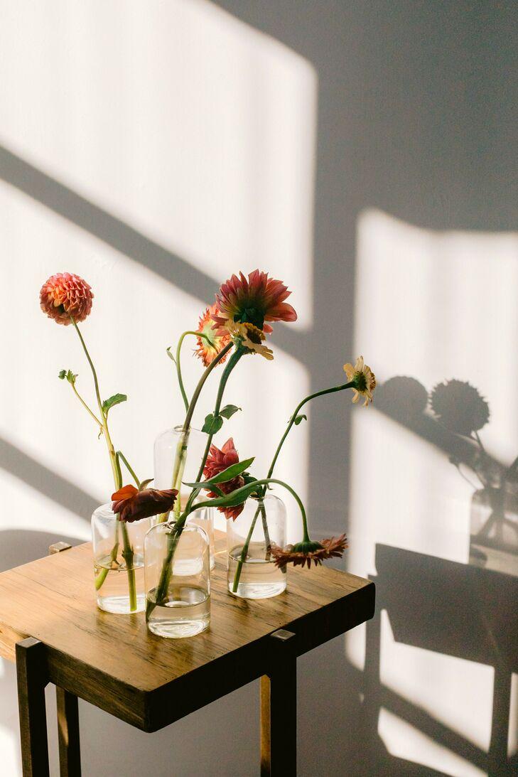 Modern Floral Arrangement at Sound River Studios in Long Island City, New York