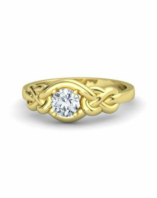 Gemvara - Customized Engagement Rings Timeless Knot Ring Engagement Ring photo