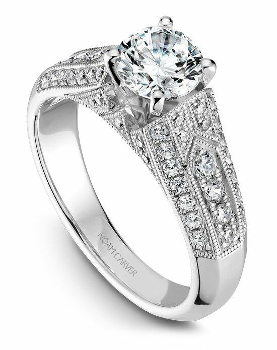 Noam Carver B055-01WS-100A Engagement Ring photo