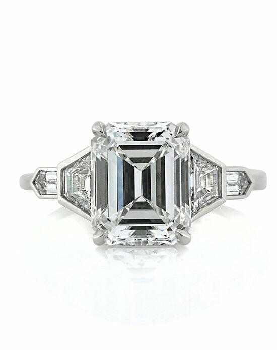 Mark Broumand 4.48ct Emerald Cut Diamond Engagement Ring Engagement Ring photo