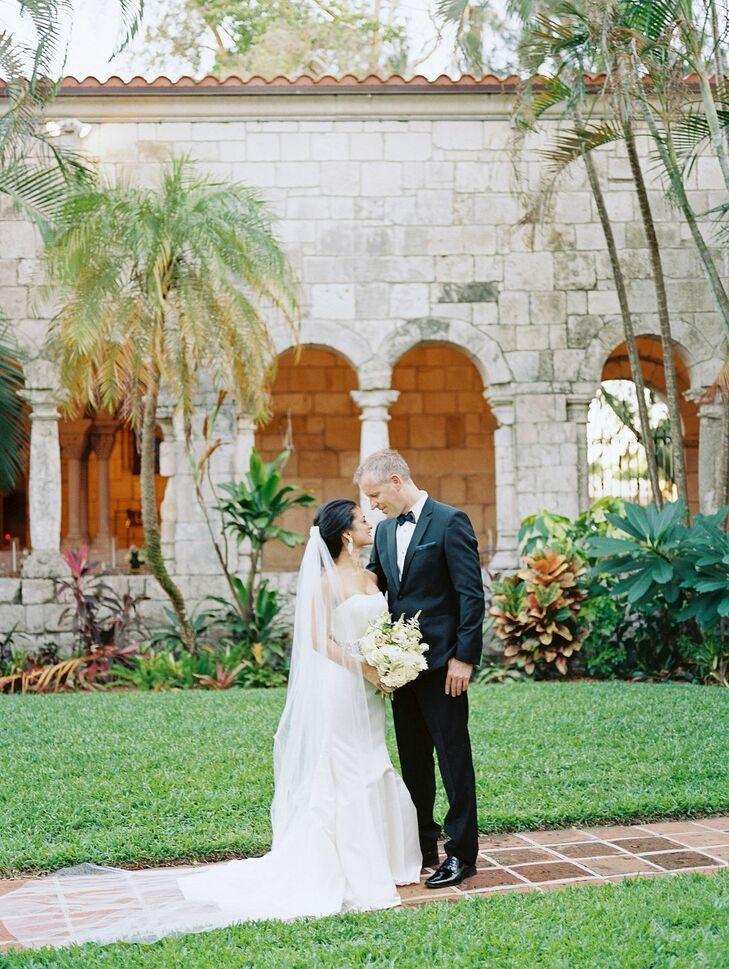 Couple Portraits at Regal Miami, Florida, Wedding