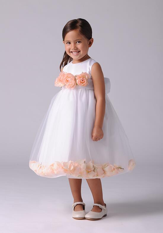 Us Angels Beautiful Color The Petal Dress Customizable-705 Flower Girl Dress photo