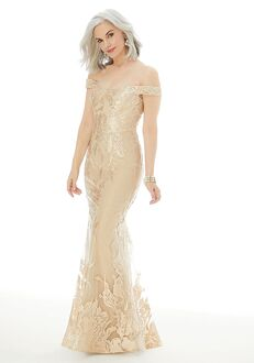 MGNY 72216 Champagne,Blue Mother Of The Bride Dress