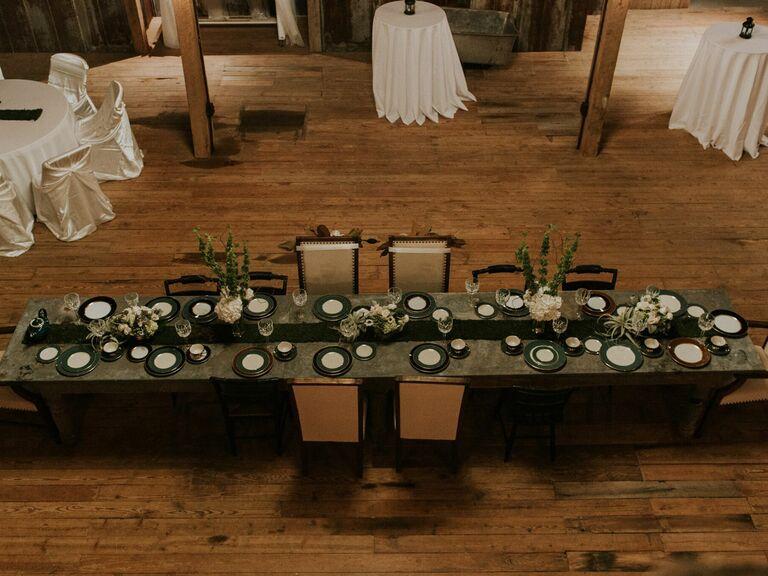 Farm wedding venue in Heflin, Alabama.