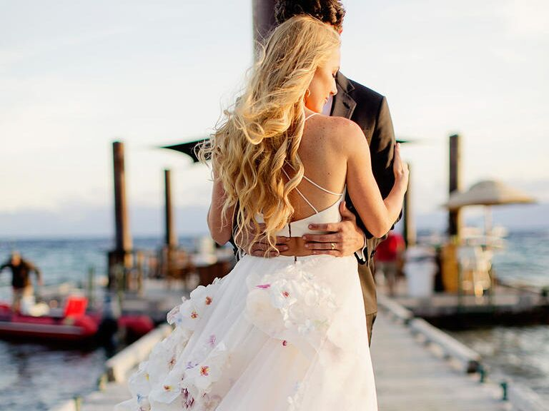 Watch Wedding Dress Designer Hayley Paige S Wedding Video,Plus Size Summer Plus Size Beach Wedding Dresses